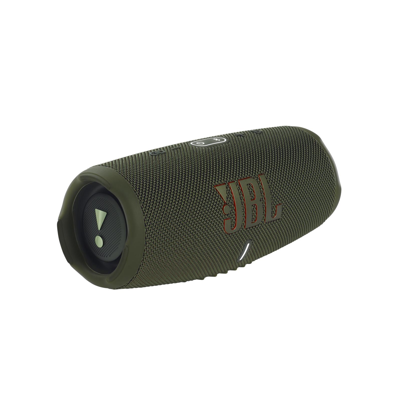 JBL CHARGE 5 - Forest Green - Portable Waterproof Speaker with Powerbank - Hero