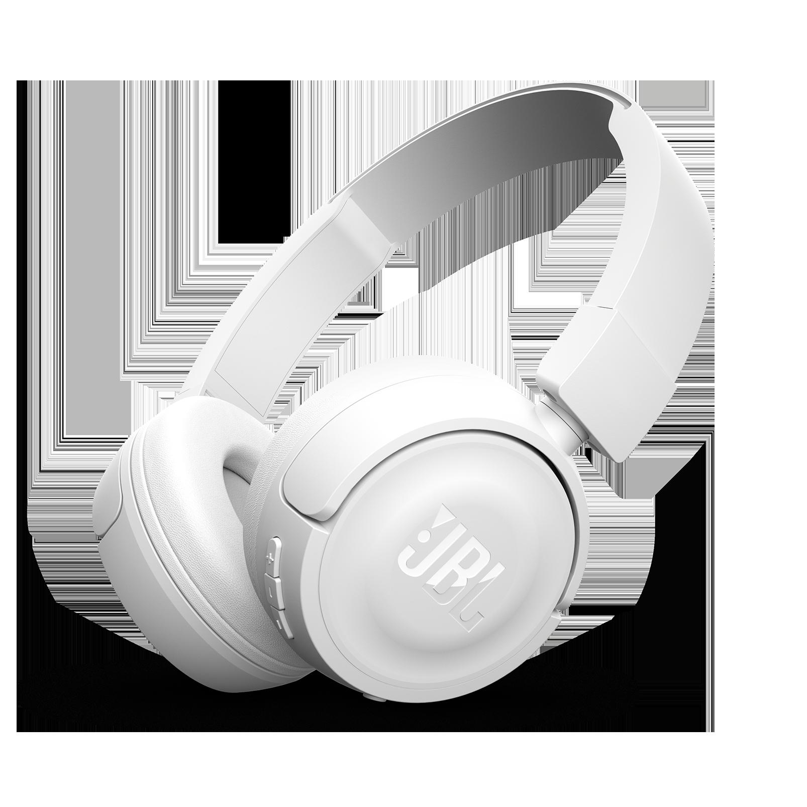 JBL T450BT - White - Wireless on-ear headphones - Hero