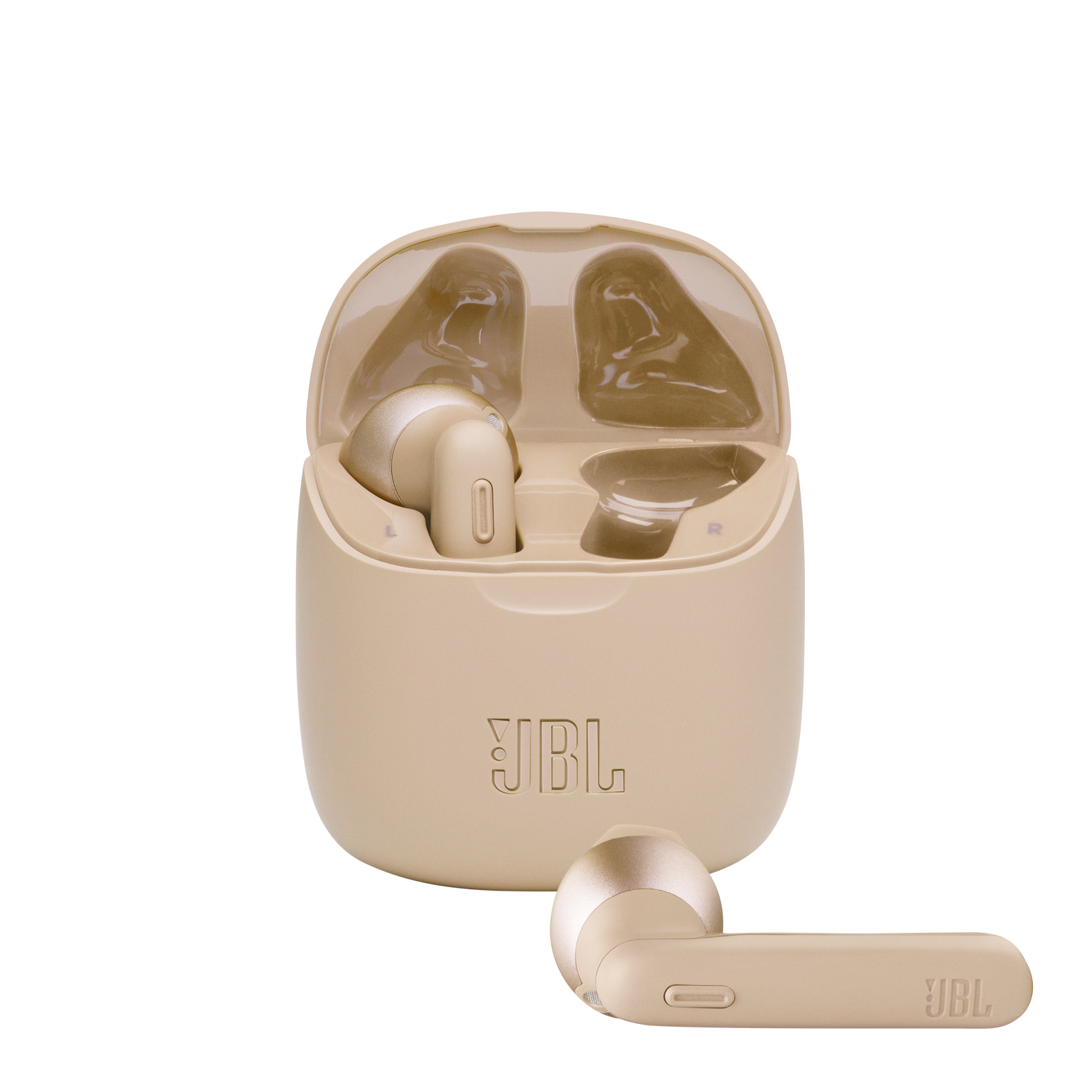 JBL Tune 225TWS - Gold - True wireless earbuds - Hero