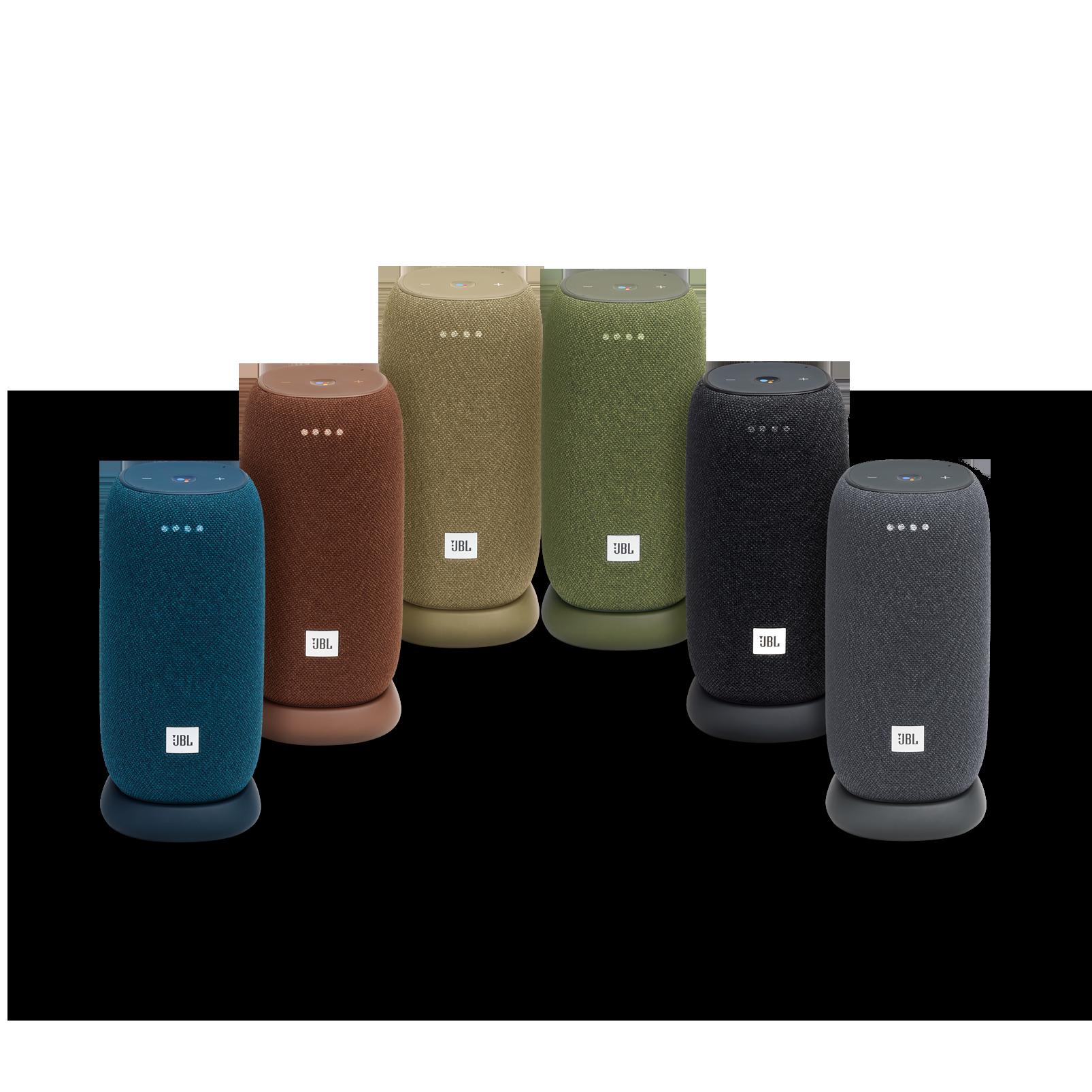 JBL Link Portable - Straw - Portable Wi-Fi Speaker - Detailshot 3
