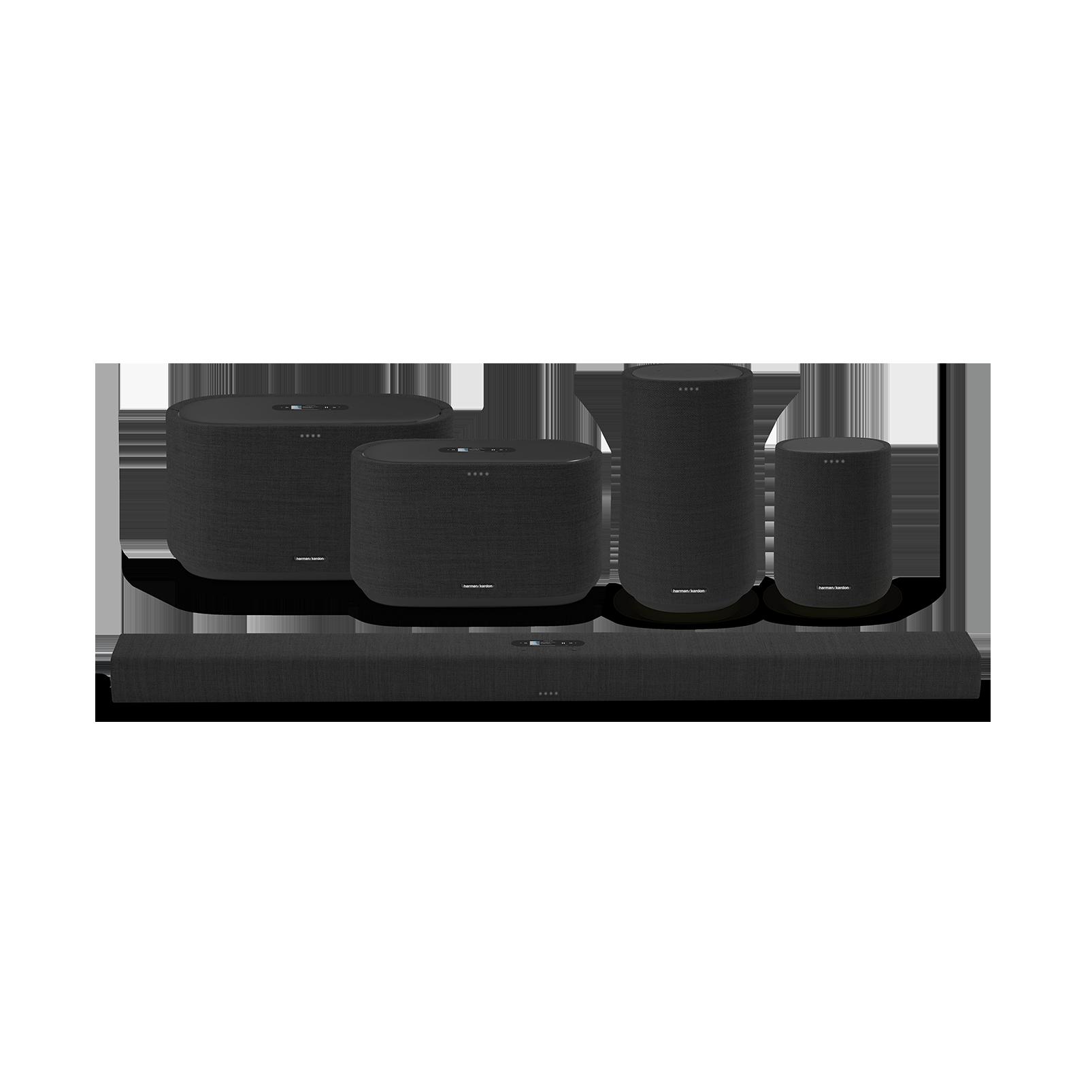 Harman Kardon Citation 300 - Black - The medium-size smart home speaker with award winning design - Detailshot 5