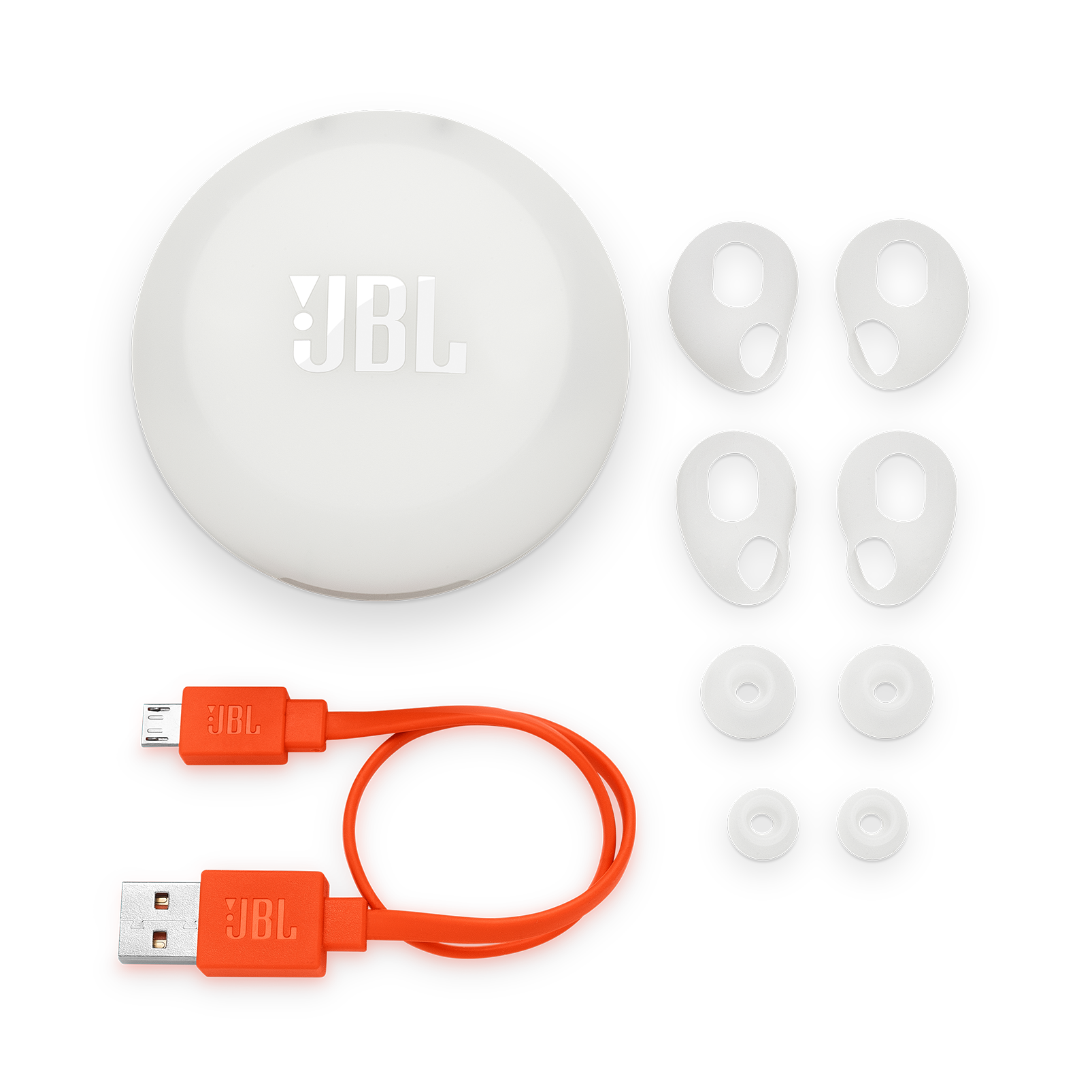 JBL Free X ear buds replacement Kit - White - JBL FREE replacement units - Detailshot 3