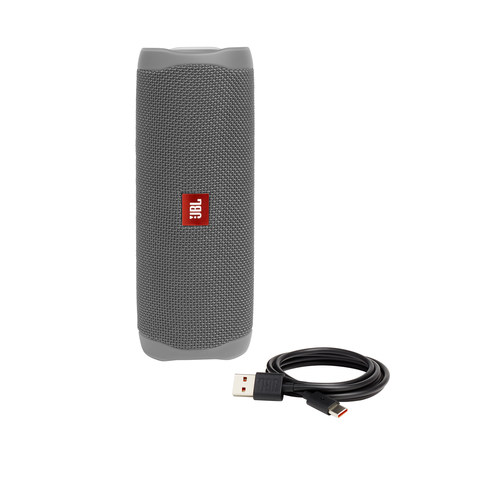 JBL FLIP 5 - Grey - Portable Waterproof Speaker - Detailshot 1