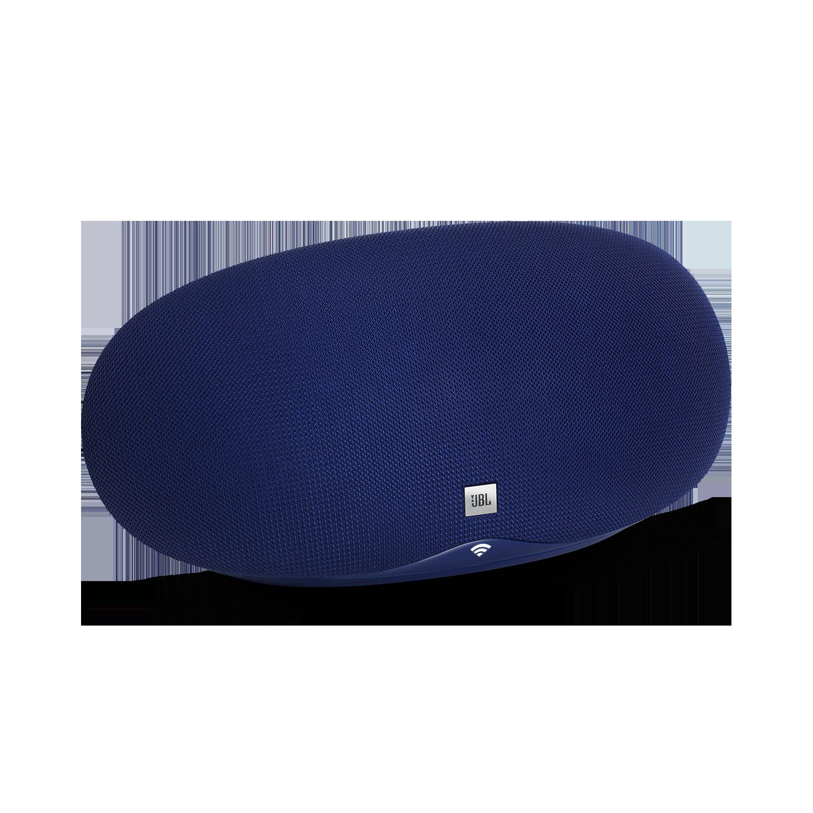 JBL Playlist - Blue - Wireless speaker with Chromecast built-in - Hero