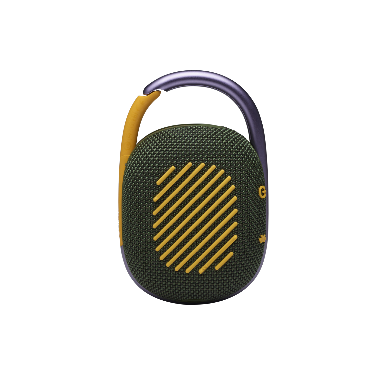 JBL CLIP 4 - Green - Ultra-portable Waterproof Speaker - Back