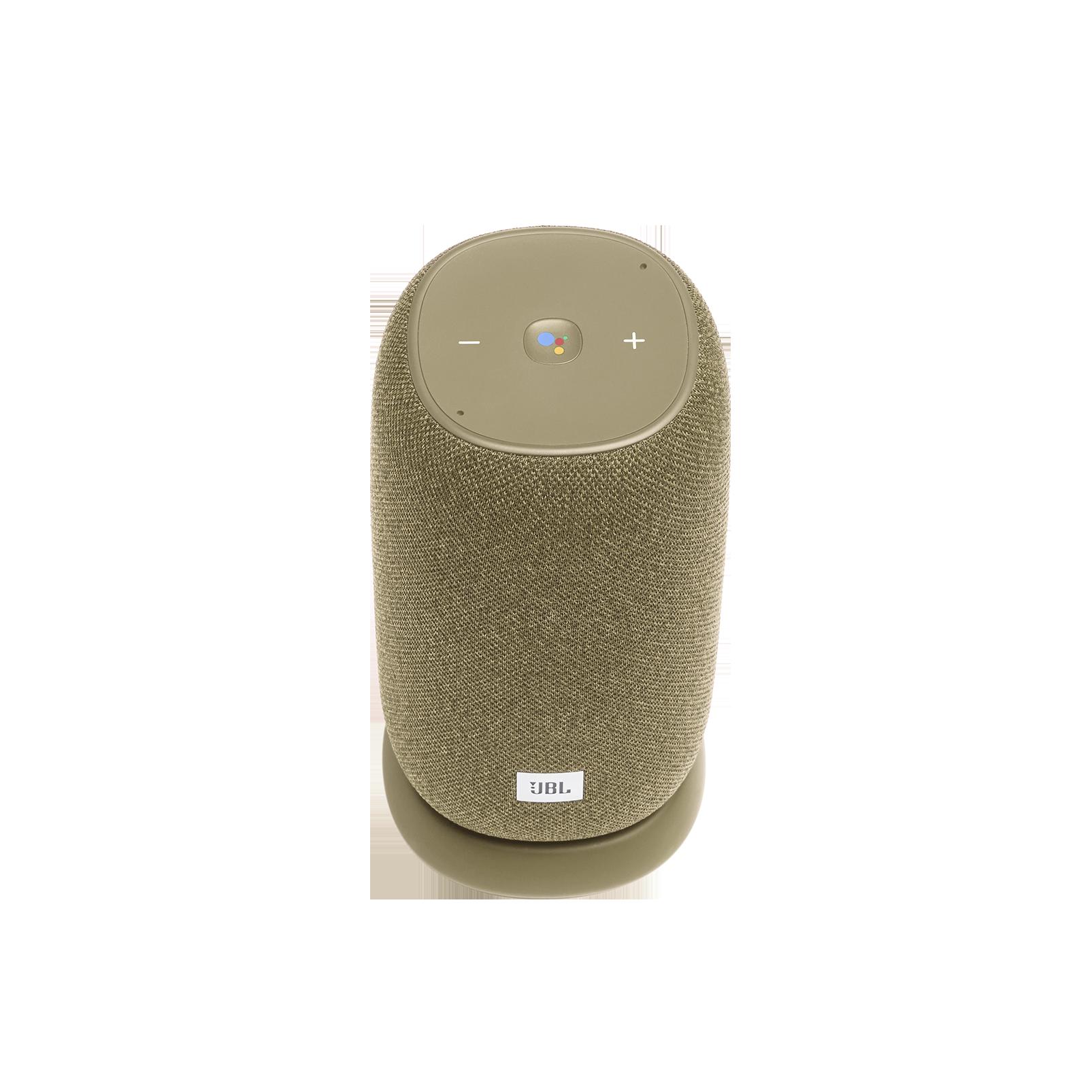 JBL Link Portable - Straw - Portable Wi-Fi Speaker - Front