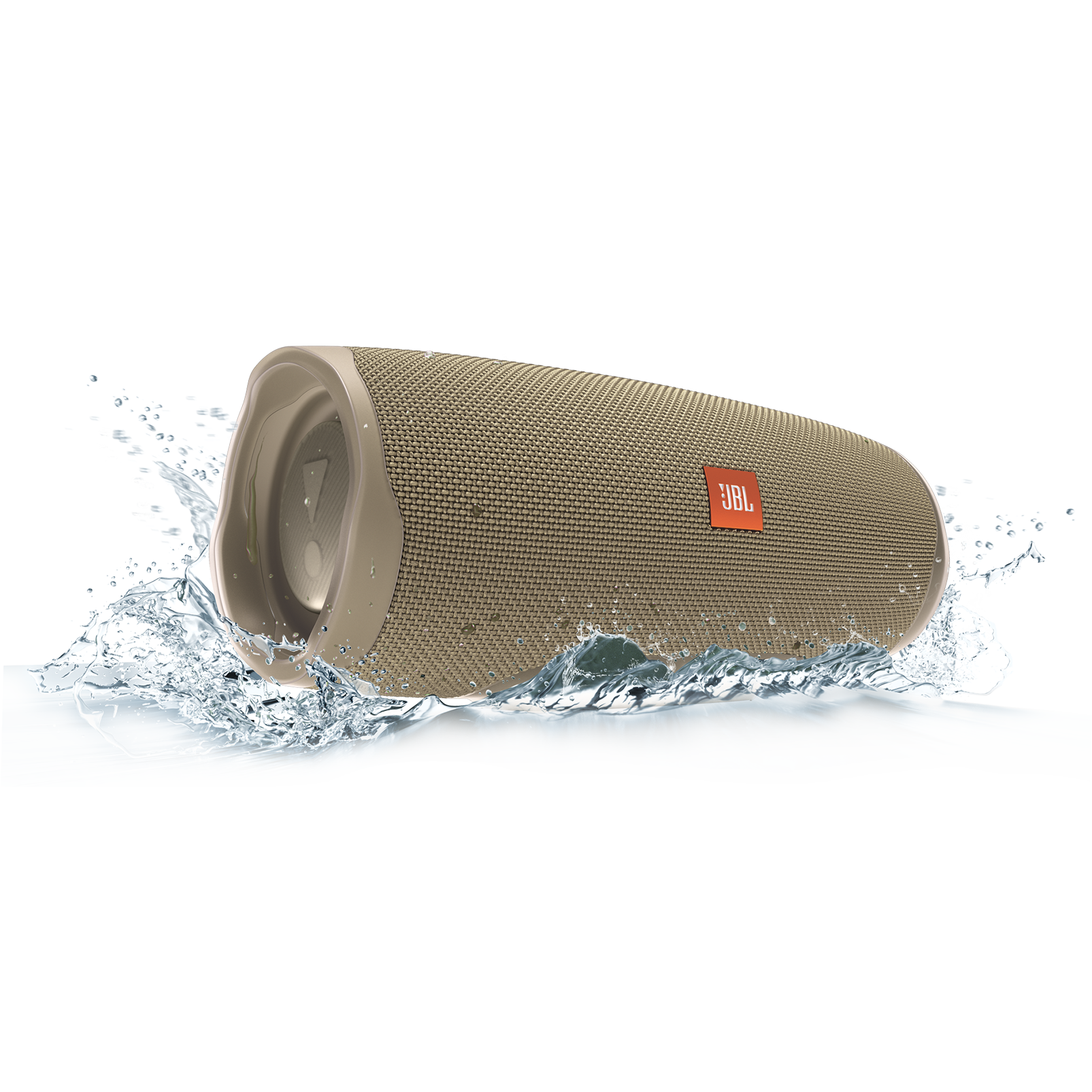 JBL Charge 4 - Sand - Portable Bluetooth speaker - Detailshot 5