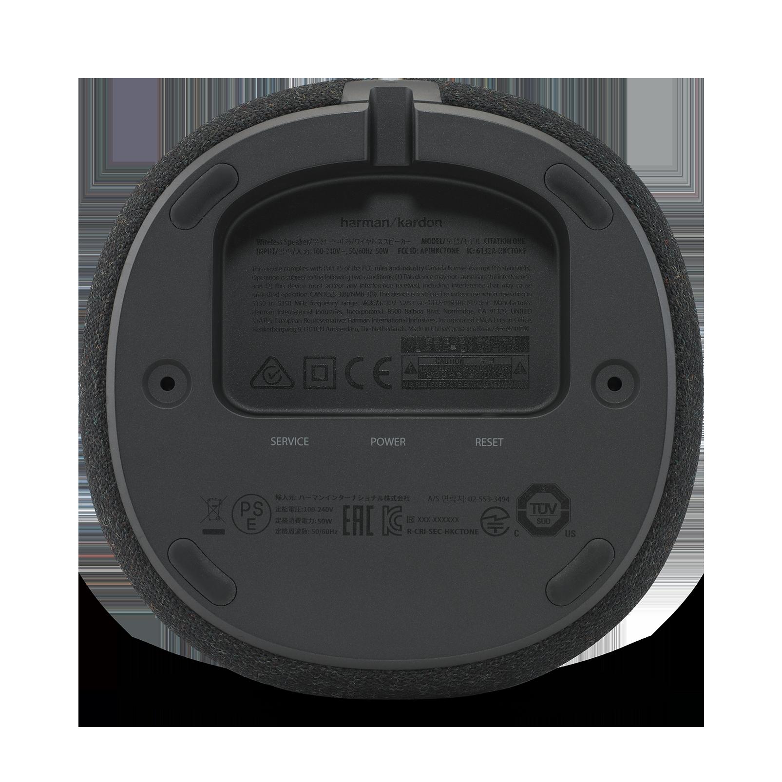 Harman Kardon Citation One MKII - Black - All-in-one smart speaker with room-filling sound - Detailshot 2