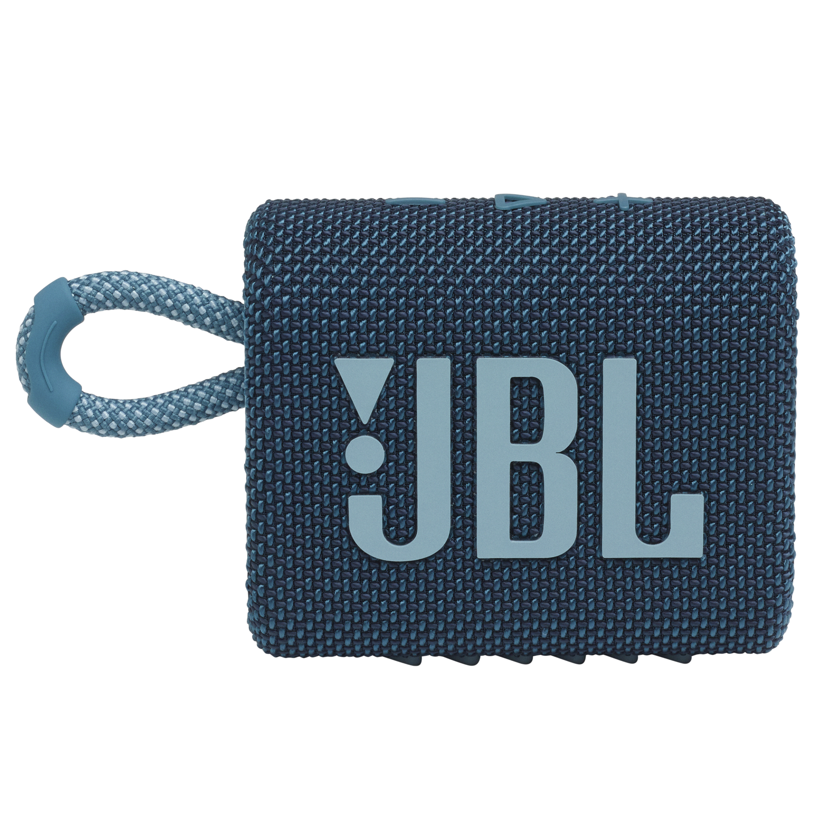 JBL GO 3 - Blue - Portable Waterproof Speaker - Front