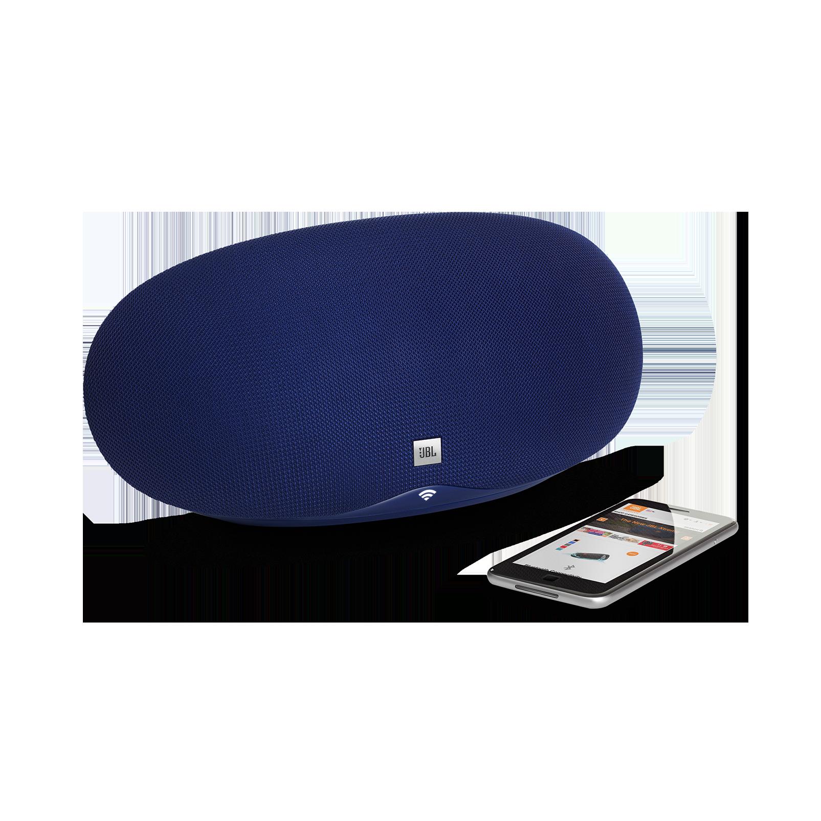 JBL Playlist - Blue - Wireless speaker with Chromecast built-in - Detailshot 1