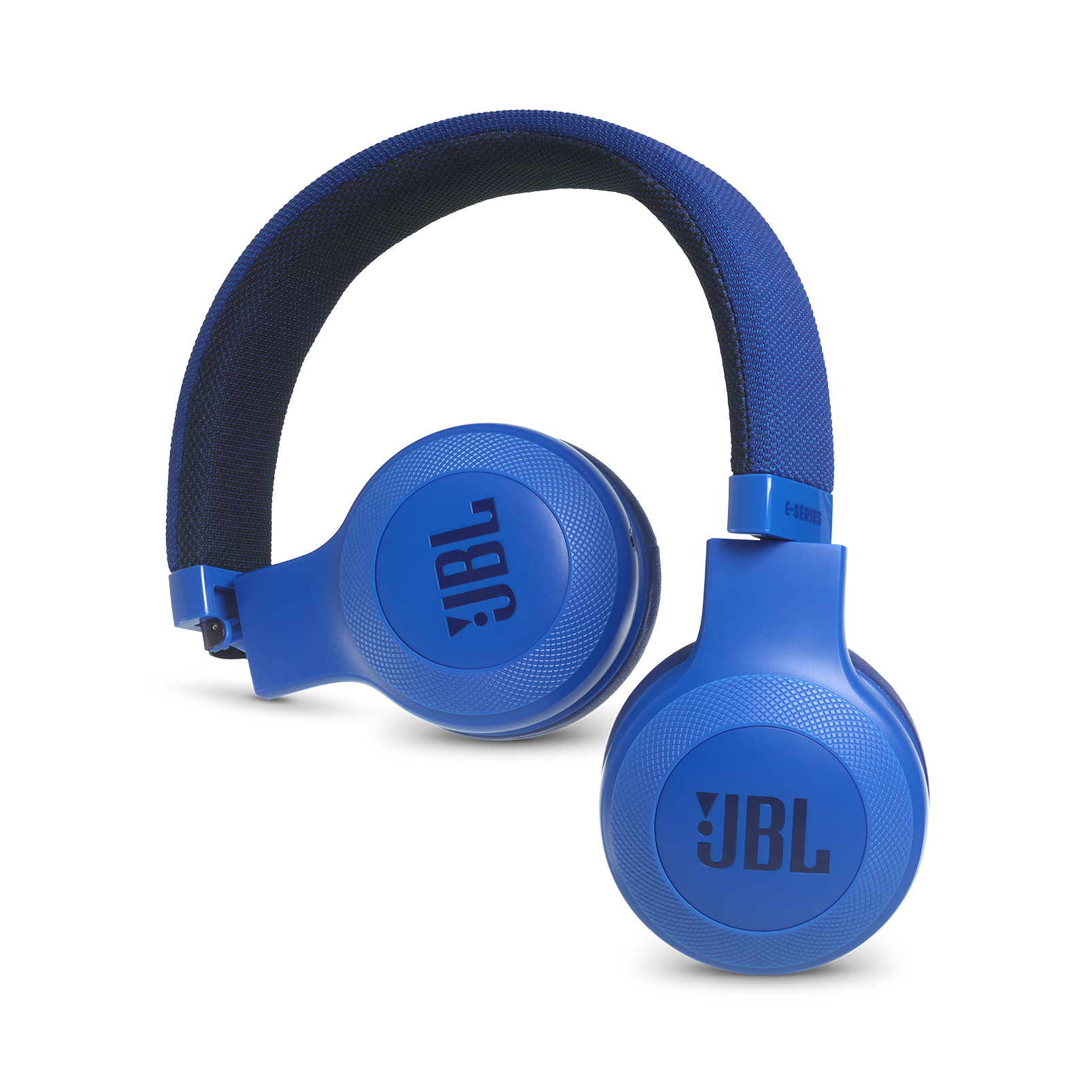 E35 - Blue - On-ear headphones - Detailshot 1