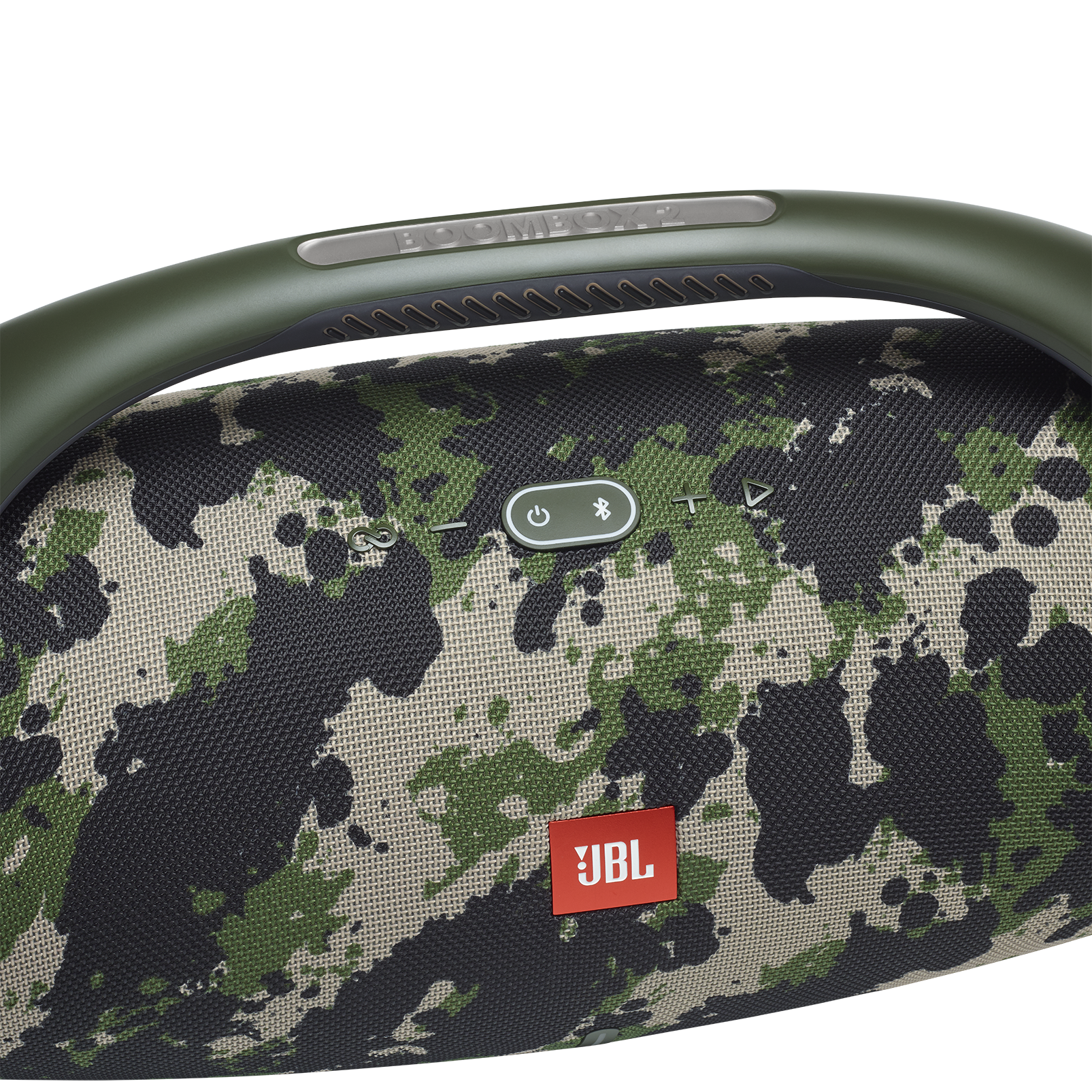 JBL Boombox 2 - Squad - Portable Bluetooth Speaker - Detailshot 1