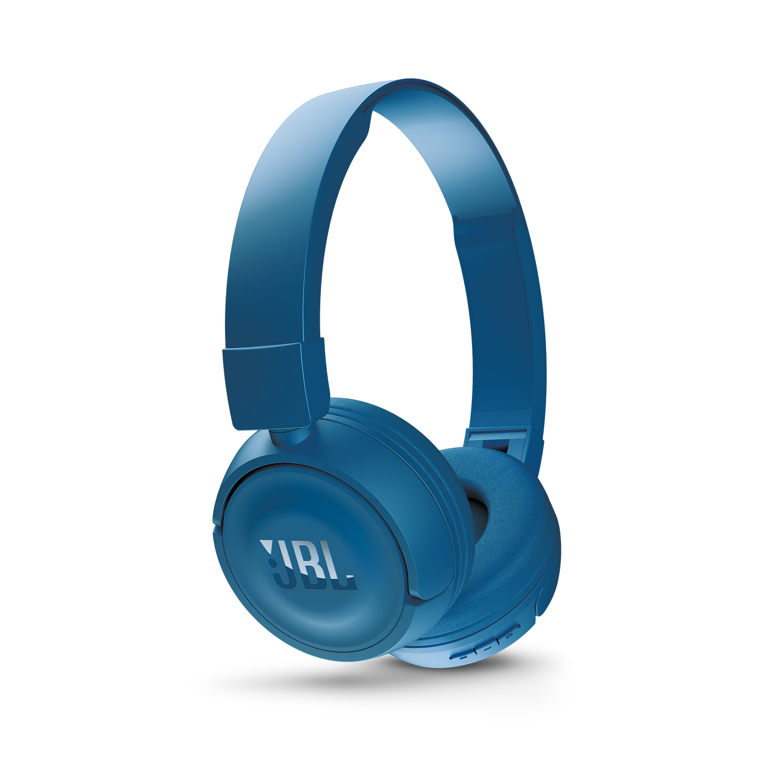 JBL T450BT - Blue - Wireless on-ear headphones - Detailshot 2