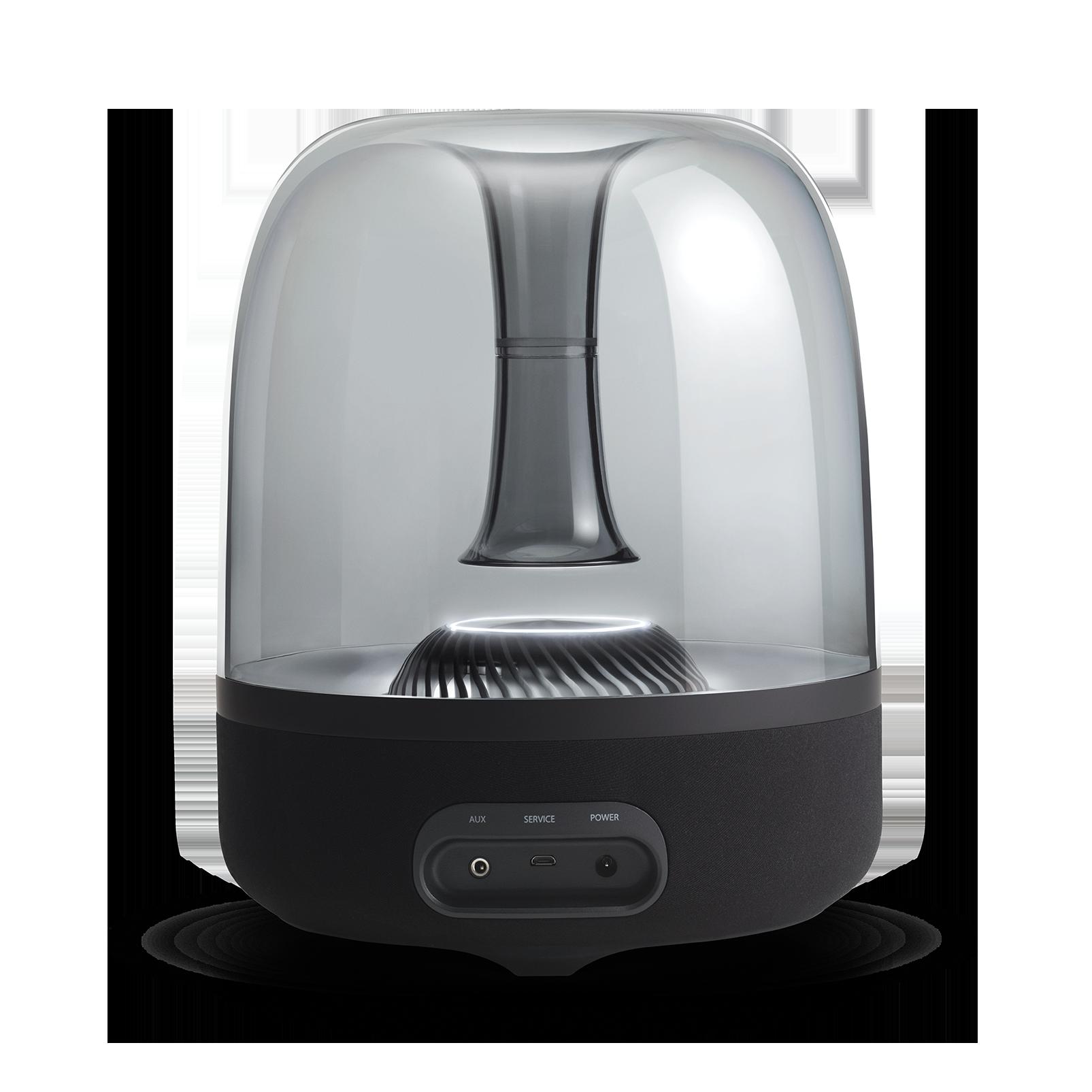 AURA STUDIO 2 - Black - Wireless speaker with ambient lighting - Back