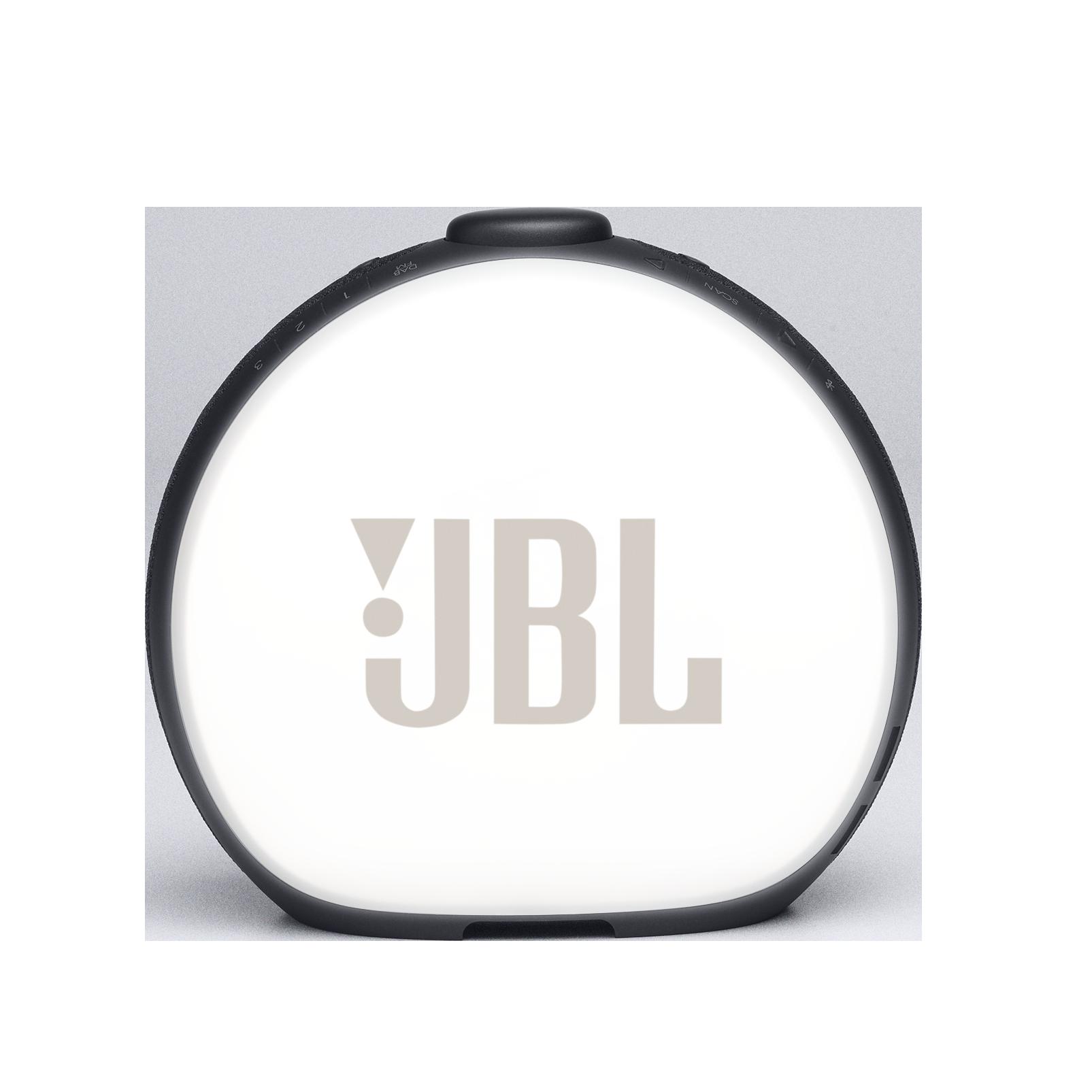 JBL Horizon 2 DAB - Black - Bluetooth clock radio speaker with DAB/DAB+/FM - Back