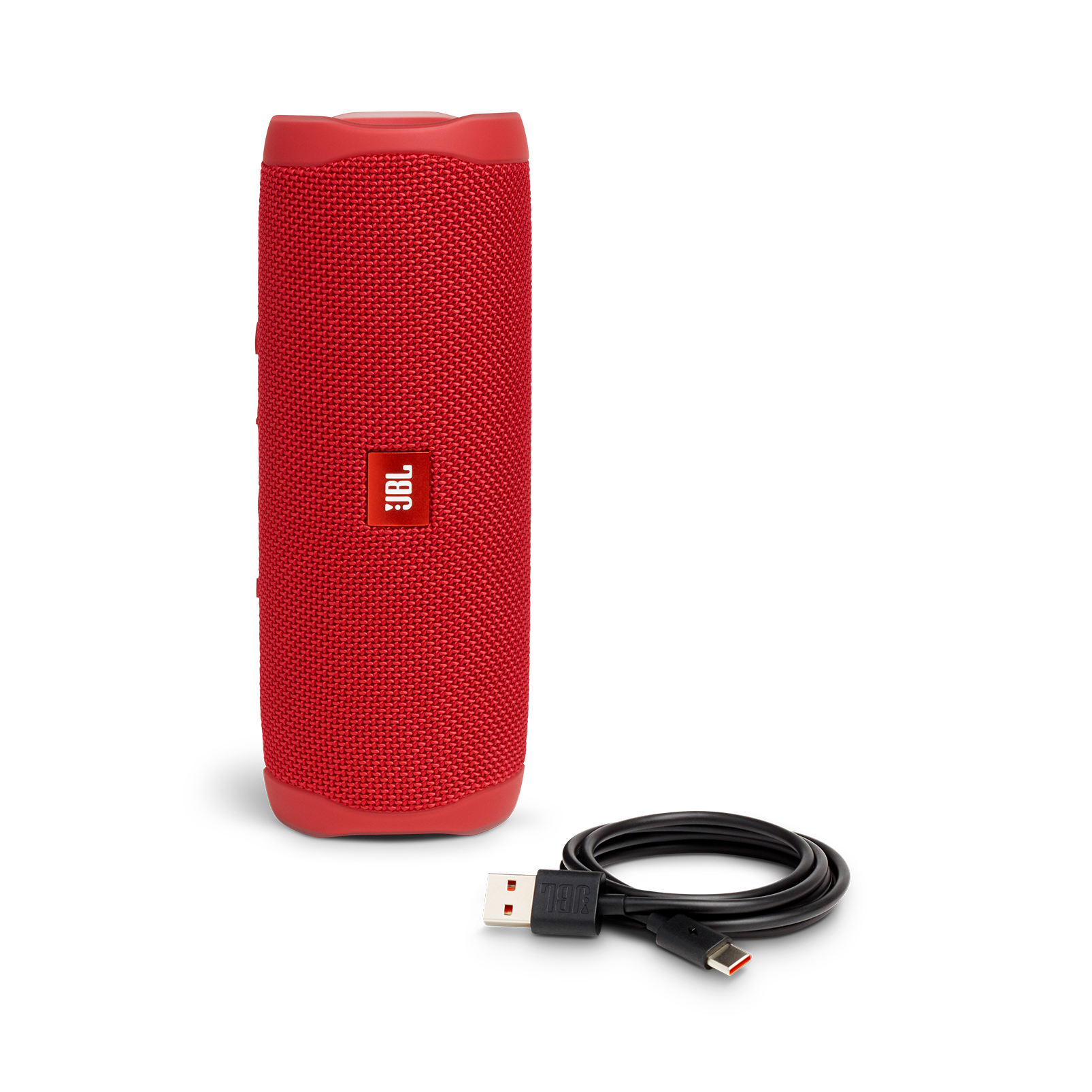 JBL FLIP 5 - Red - Portable Waterproof Speaker - Detailshot 1