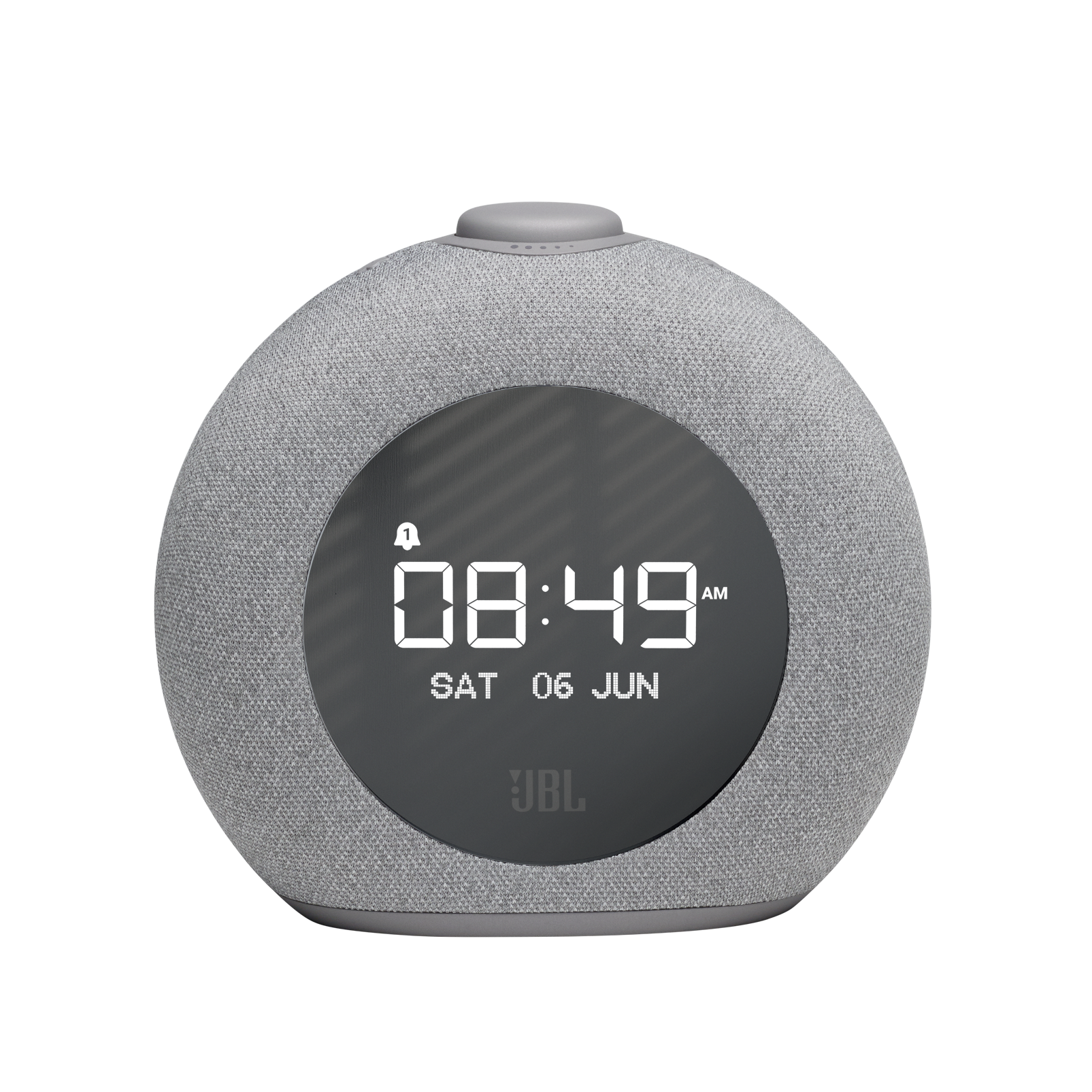 JBL Horizon 2 DAB - Grey - Bluetooth clock radio speaker with DAB/DAB+/FM - Front