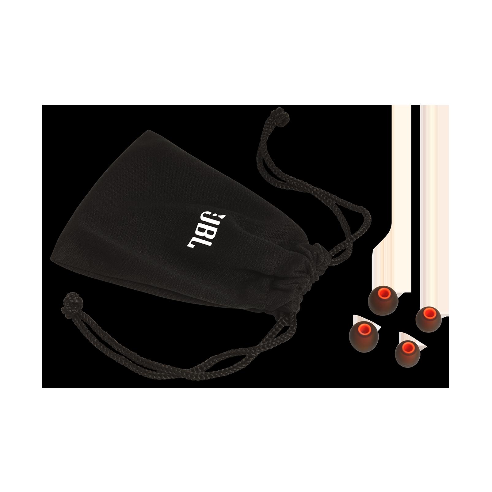 JBL TUNE 210 - Black - In-ear headphones - Detailshot 5