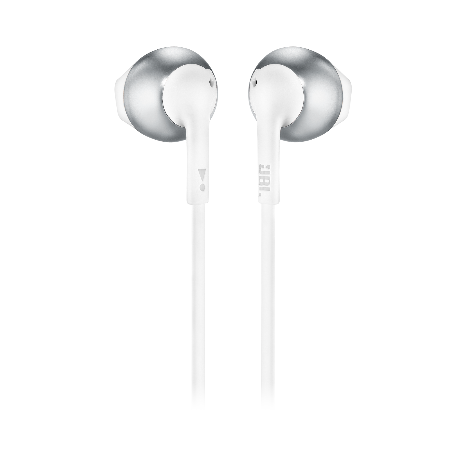 JBL TUNE 205BT - Silver - Wireless Earbud headphones - Back