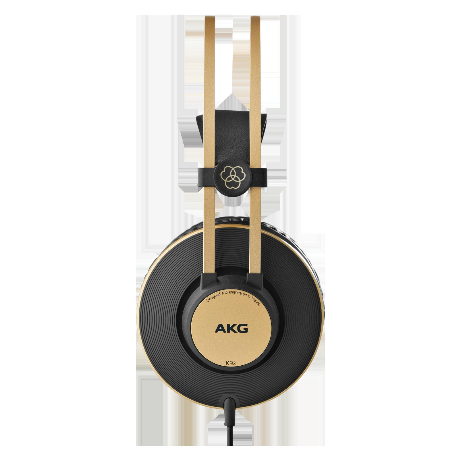 K92 - Black - Closed-back headphones - Left