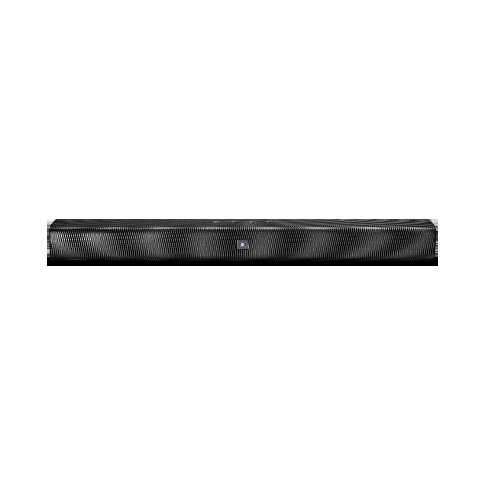 JBL Bar Studio - Black - 2.0 - Channel Soundbar with Bluetooth - Front