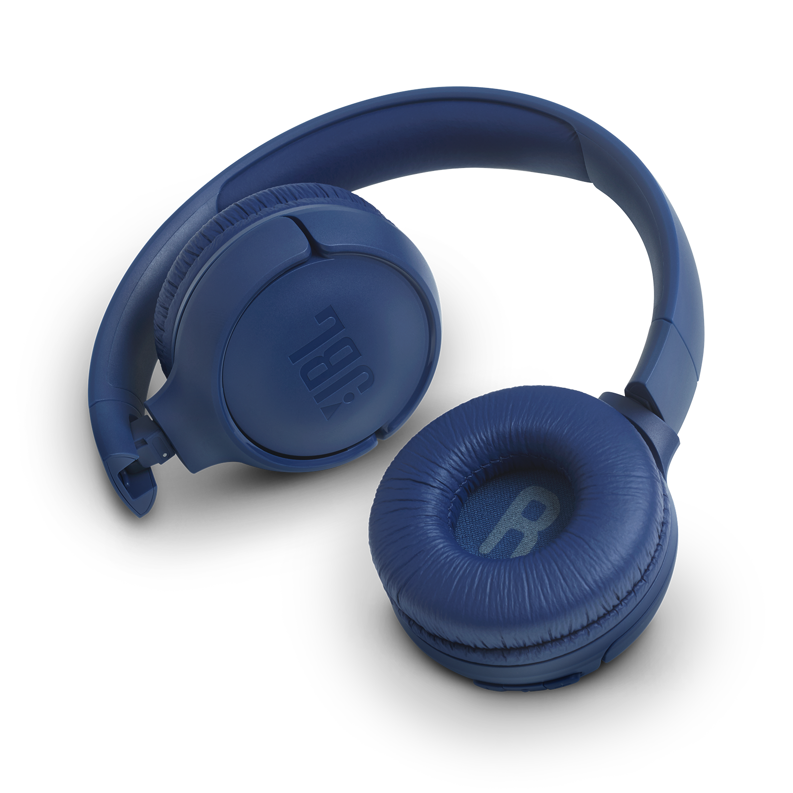 JBL TUNE 500BT - Blue - Wireless on-ear headphones - Detailshot 1