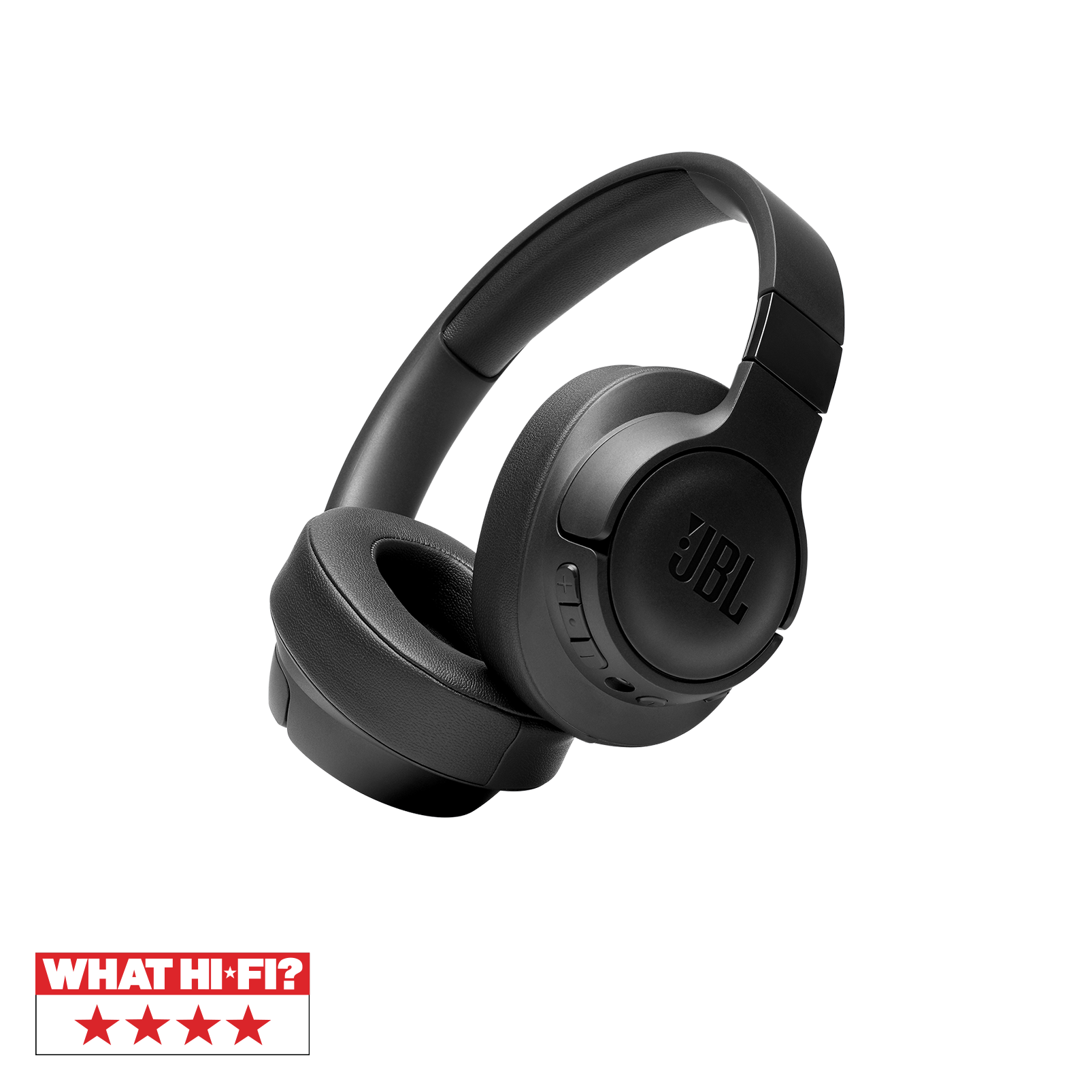 JBL TUNE 750BTNC - Black - Wireless Over-Ear ANC Headphones - Hero