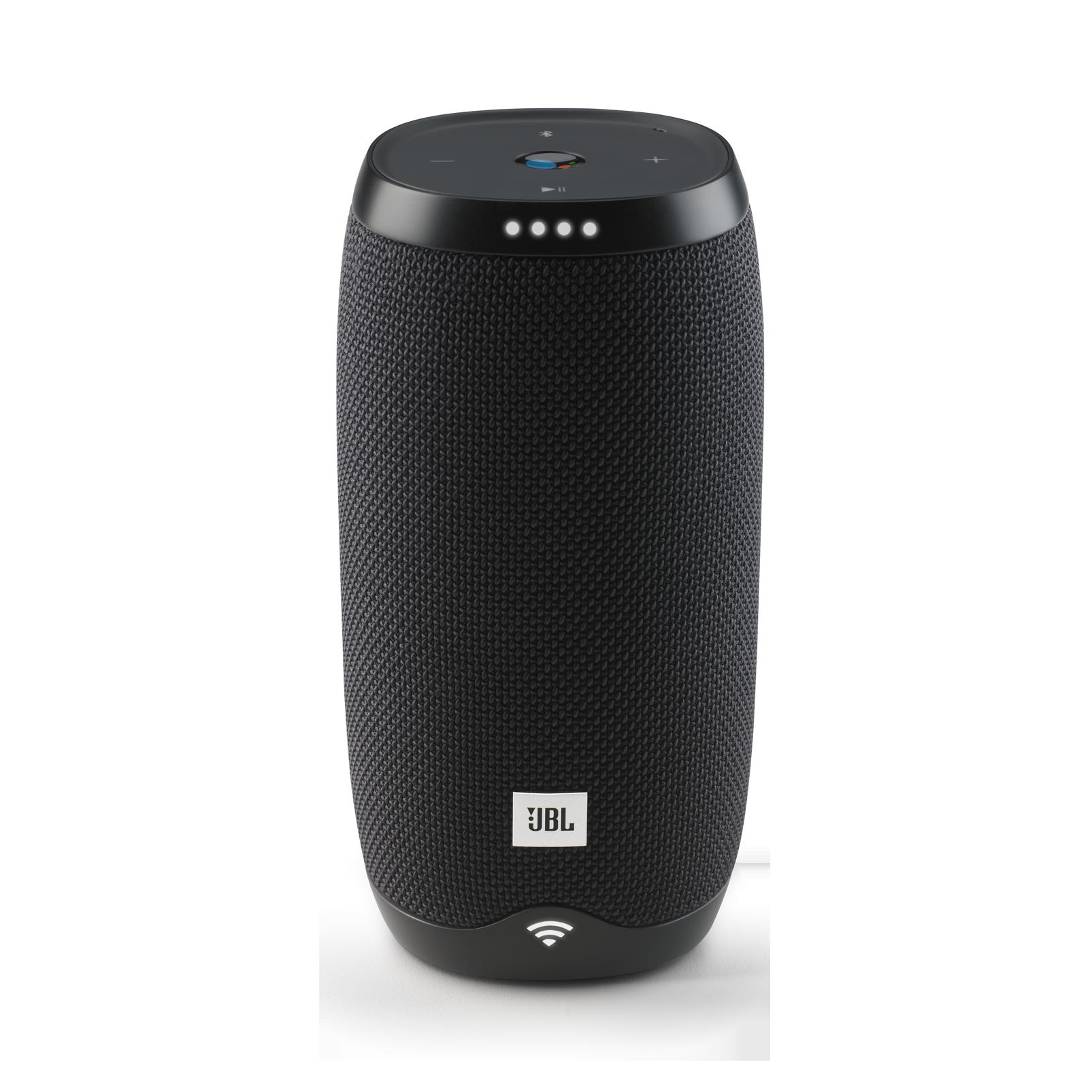 JBL Link 10 - Black - Voice-activated portable speaker - Front