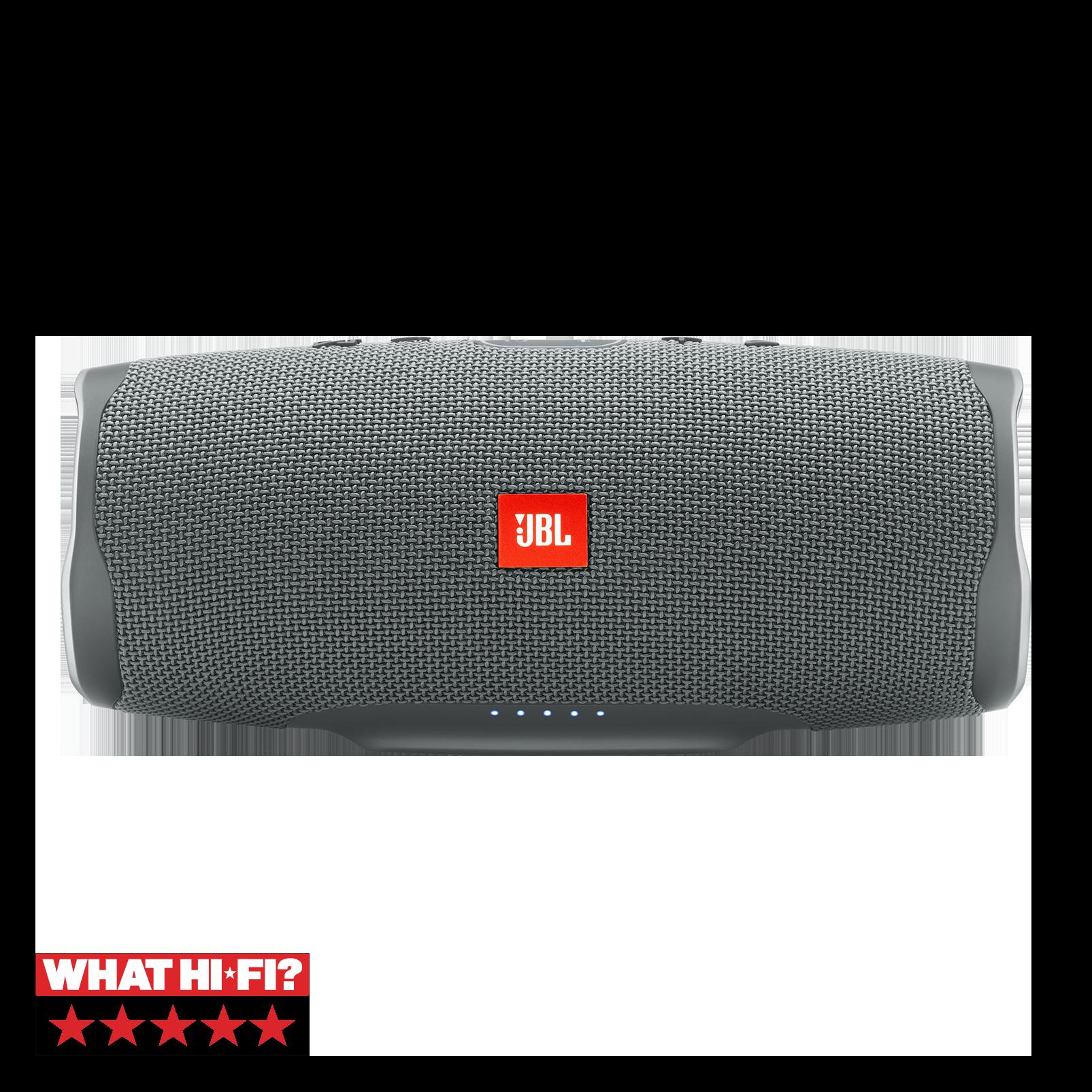 JBL Charge 4 - Grey - Portable Bluetooth speaker - Hero