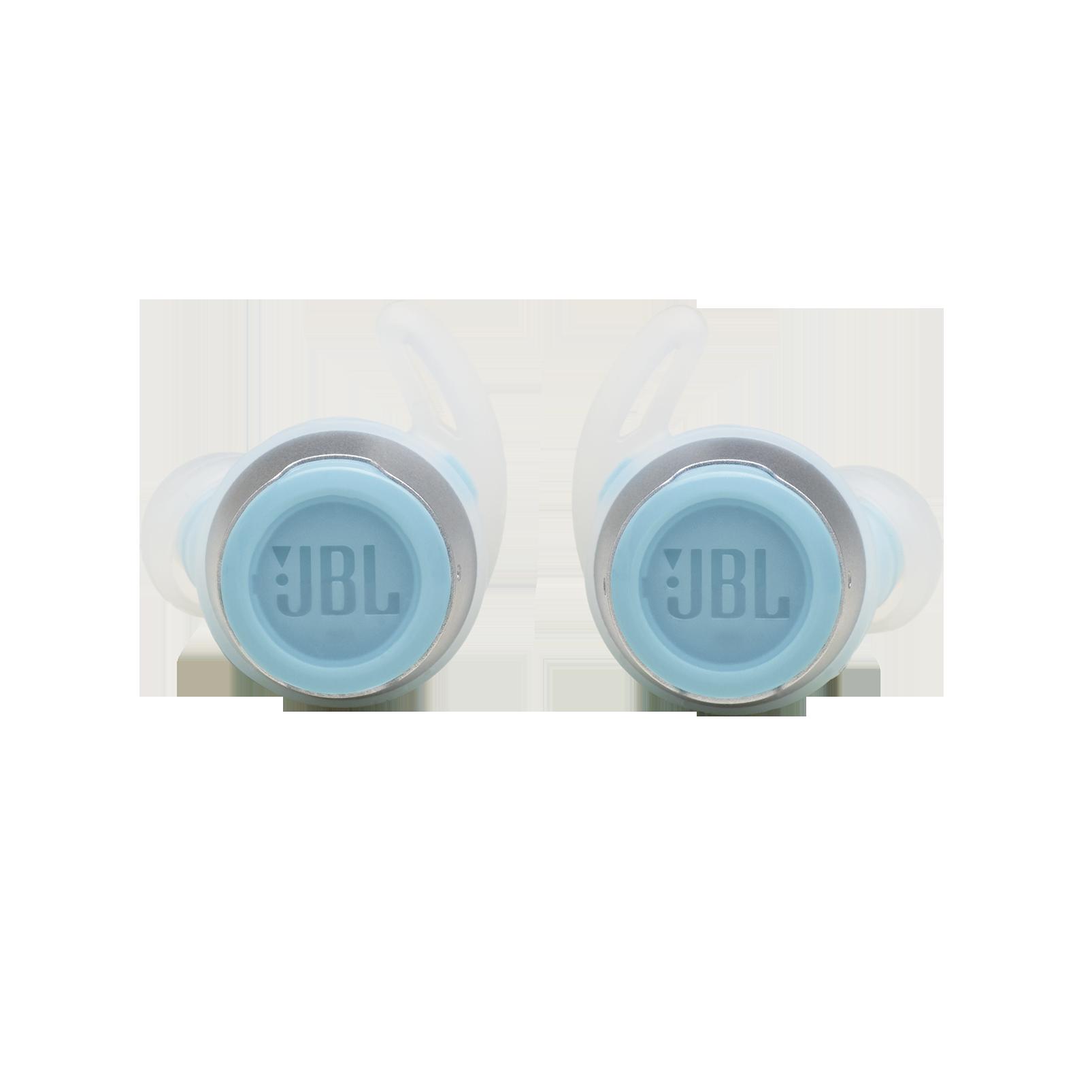 JBL Reflect Flow - Teal - Waterproof true wireless sport earbuds - Front