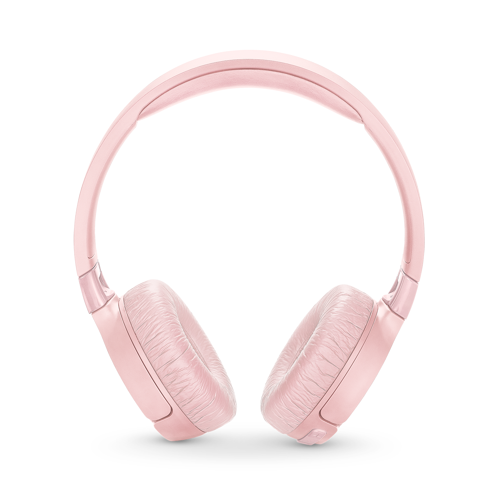 JBL TUNE 600BTNC - Pink - Wireless, on-ear, active noise-cancelling headphones. - Front